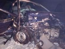 В Чистопольском районе в лобовом столкновении двух автомобилей 'Лада Калина' погибли два человека