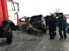 В ДТП с участием 3 легковых автомобилей на автотрассе 'Оренбург - Казань' погибли три человека