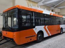 В дочерней компании «КАМАЗа» собрали первый корпус нового троллейбуса