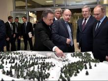 Владимир Путин взял отпуск на один день и ночует сегодня в сибирской тайге