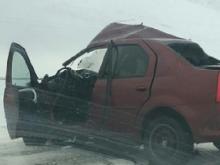 В Чистопольском районе РТ в столкновении двух автомобилей погиб водитель 'Рено Логан'