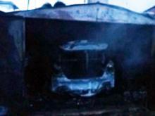 В поселке Татарстан сгорела иномарка. Пострадавший автовладелец обвинил в пожаре мышей.