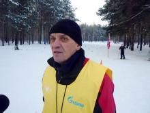 Главный лыжник Набережных Челнов отмечает 65-летие на лыжне в Заинске