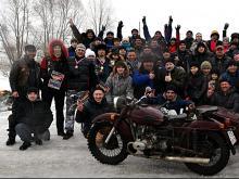 Мотоклуб 'Стальные Монстры' 8 марта приготовил небольшой подарок для челнинок