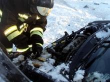 На автотрассе 'Сарманово - Заинск' автомобиль вылетел в кювет - один человек погиб