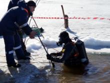 Челнинские водолазы ищут рыбака, пропавшего в субботу на реке Кичуй