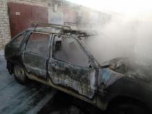 В ГСК «Испытатель» из-за короткого замыкания сгорел автомобиль «Ода»