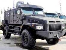 Броневик 'Патруль' на базе полноприводного 'КАМАЗа' для спецназа Росгвардии проходит испытания