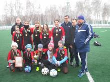 Челнинские футболистки 2004-2005 года рождения стали первыми в Татарстане