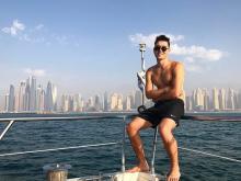 Челнинский саксофонист 'Mauzer Sax' показал, как работает и отдыхает в эмирате Дубай (видео)