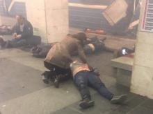 50 минут назад: Взрыв в вагоне метро в Санкт-Петербурге. Погибли люди (видео)