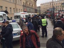 В Санкт-Петербурге после взрыва в метро в местных группах соцсетей пишут страшилки