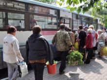 Челнинцы смогут уехать в садовые общества с 5 остановок автобусов, к которым они привыкли