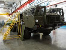 В Набережных Челнах будут капитально ремонтировать четырехосные ракетоносцы 'МАЗ-543' (видео)