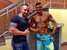 Челнинец за 6 месяцев накачался и стал победителем Кубка Татарстана по бодибилдингу