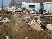 Экологи обнаружили возле поселков Бетьки и Круглое поле горы строительного мусора