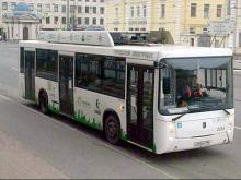 Электробус 'КАМАЗ-6282' заинтересовал атомную промышленность Ленинградской области