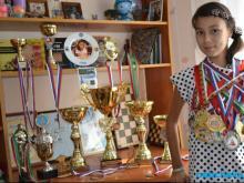 15-летняя челнинка Зарина Шафигуллина стала бронзовым призером чемпионата России по шхматам