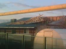 В Черемшанском районе Татарстана сильный ветер повредил крыши 34 домов. Жертв нет