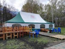Челнинка недовольна: в парке Победы поставили 'пивную палатку'