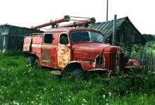 Пожарка без колёс