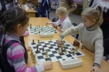 В шахматы сыграли дошкольники