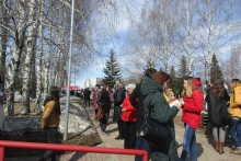 Около 3 тысяч челнинцев пришли на митинг против терроризма